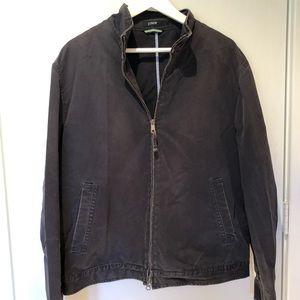 Vintage look Navy canvas jacket